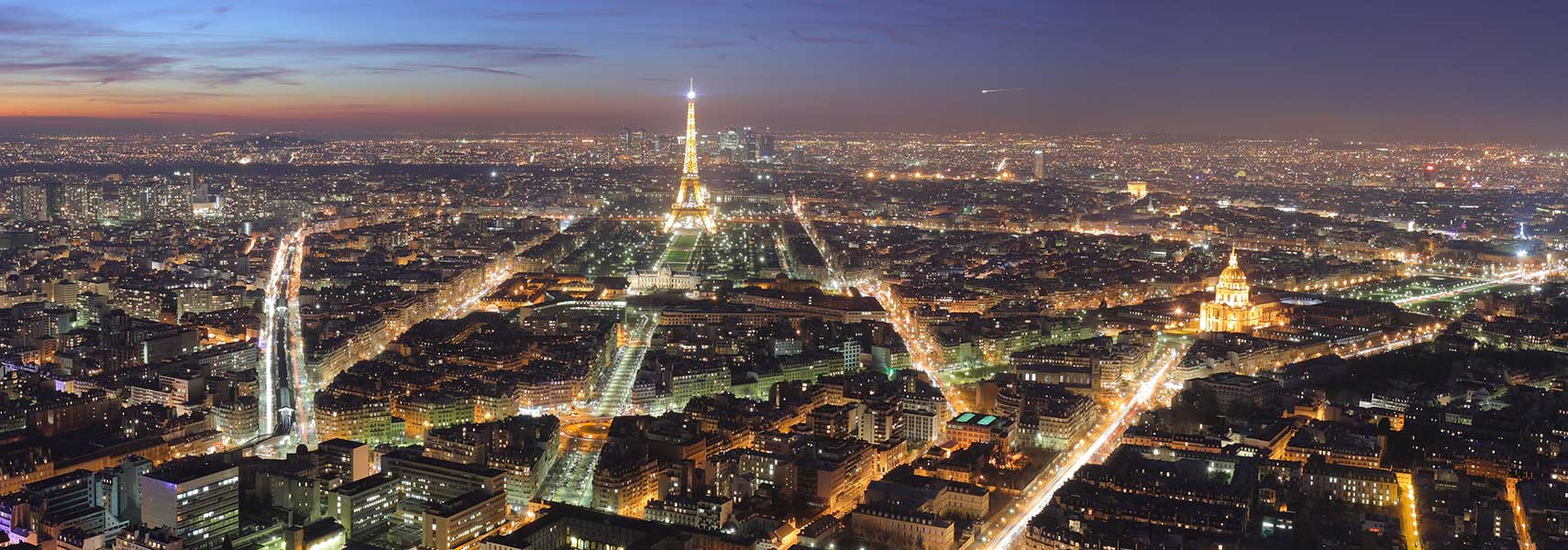 Famous Landmarks Satellite View Of The Eiffel Tower Paris France Nations Online Project