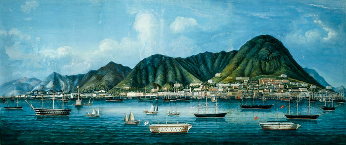 Painting of the City of Victoria, Hong Kong