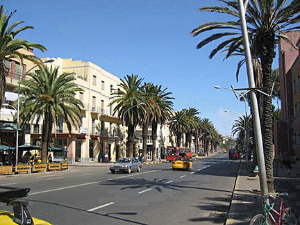 Google Map of Asmara - Nations Online Project